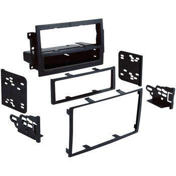 Single- or Double-DIN Installation Multi Kit for Vehicles with Factory Navigation for 2005 through 2008 Dodge(R)/Jeep(R)/Chrysler(R)