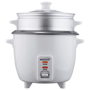 Rice Cooker with Steamer (10 Cups, 700 Watts)