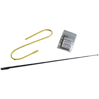 Wet Noodle(TM) Magnetic In-Wall Retrieval System