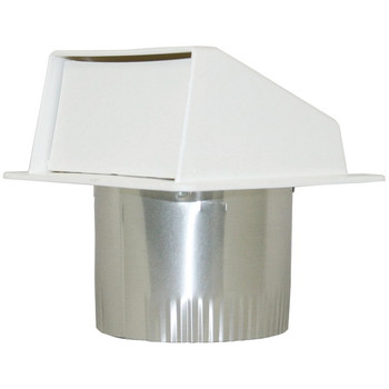 """PEV802 4"""" Under-Eave Exhaust Vent"""