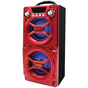 Bluetooth(R) Speaker with Speakerphone (Red)