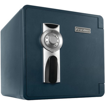 1.3 Cubic-ft Waterproof and Fire-Resistant Bolt-Down Combination Safe