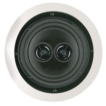 "100-Watt 6.5"" Dual Voice-Coil Stereo In-Ceiling Speaker"