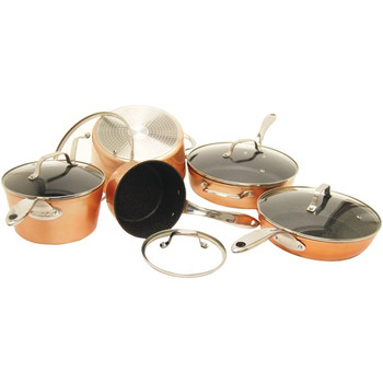 THE ROCK(TM) by Starfrit(R) 10-Piece Copper Cookware Set