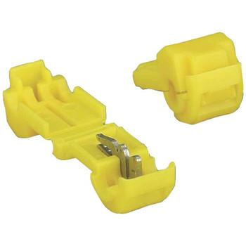 3M(TM) T-Taps, 100 pk (Yellow, 12-10 Gauge)