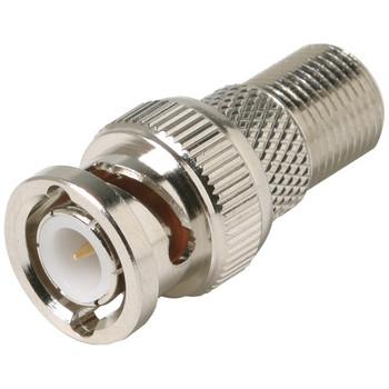 F-Jack to BNC Plug Adapter