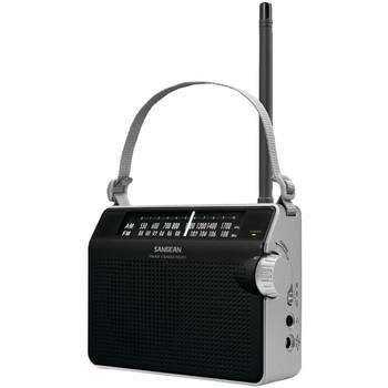 AM/FM Compact Analog Radio (Black)