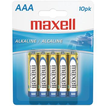 Alkaline Batteries (AAA; 10 pk; Carded)