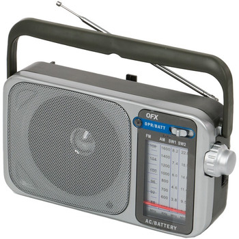 Retro AM/FM/SW1 and SW2 Portable Radio