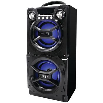 Bluetooth(R) Speaker with Speakerphone (Black)
