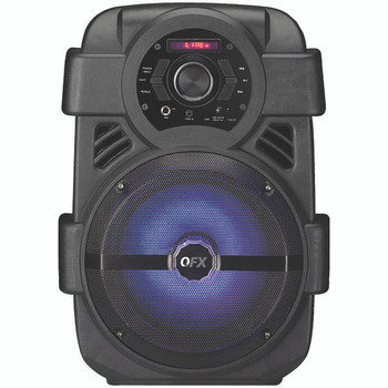 """8"""" Rechargeable Bluetooth(R) Party Sound System"""