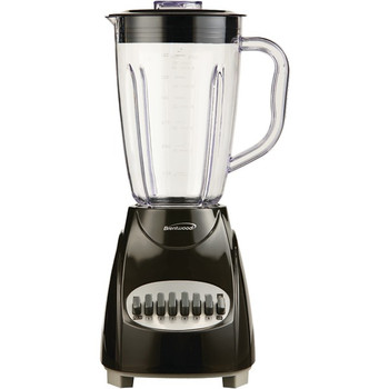 50-Ounce 12-Speed + Pulse Electric Blender with Plastic Jar (Black)