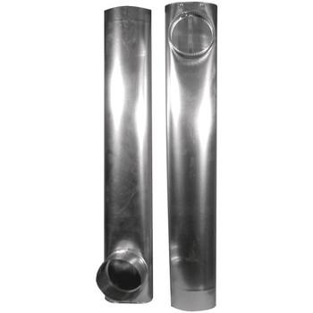 """Skinny Duct(TM) Telescoping Aluminum Vent (27""""- 48"""")"""