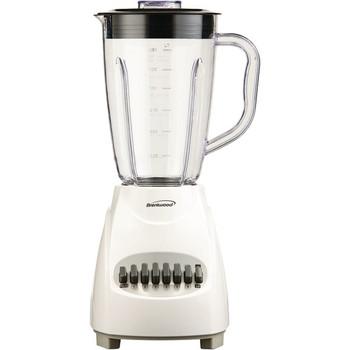 12-Speed Blender with Plastic Jar (White)