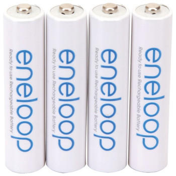 eneloop(R) Rechargeable Batteries (AAA; 4 pk)