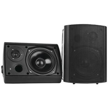 "6.5"" Indoor/Outdoor Wall-Mount Bluetooth(R) Speaker System (Black)"