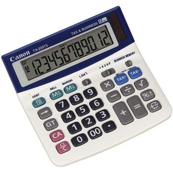 TX-220TSII Portable Display Calculator