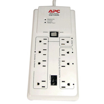 8-Outlet Energy-Saving Surge Protector