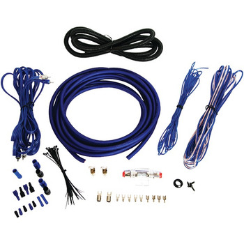 Installer Series Amp Installation Kit (4 Gauge, 1,600 Watts)