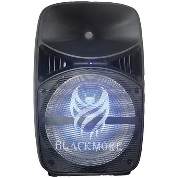 Portable Amplified 2-Way Loudspeaker with LEDs