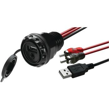 PSAP-2 Waterproof Dash-Mounted Accessory Plug