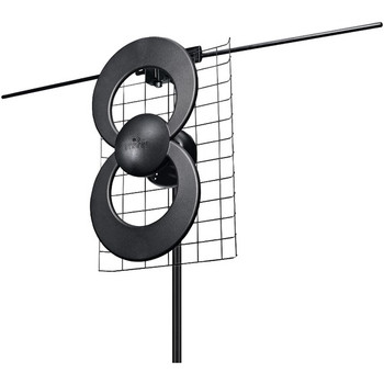 """ClearStream(TM) 2V UHF/VHF Indoor/Outdoor DTV Antenna with 20"""" Mount"""