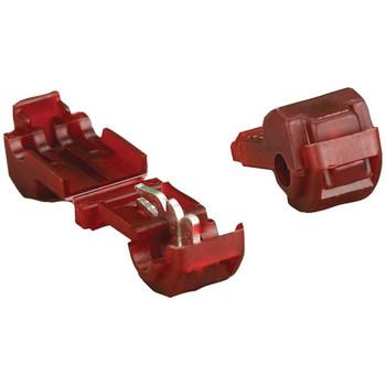 3M(TM) T-Taps, 100 pk (Red, 22-18 Gauge)