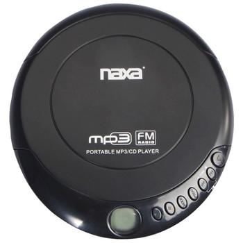 Slim Personal Anti-Shock CD Player/FM Radio