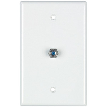 2.4GHz Coaxial Wall Plate (White)