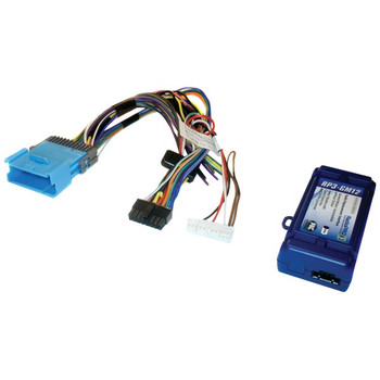 Radio Replacement Interface for Select GM(R) Vehicles (Class II Databus, 24-Pin Harness, Chevrolet(R) Equinox 2005-2006 & Pontiac(R) Torrent 2006)