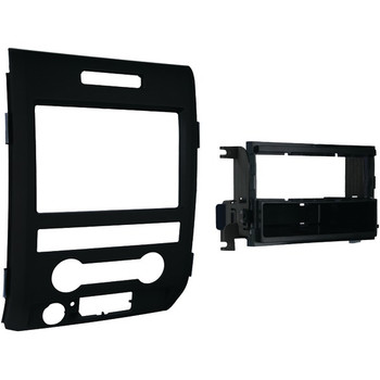 Single- or Double-DIN Installation Kit for 2009 through 2014 Ford(R) F-150