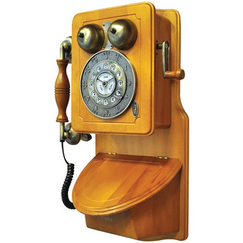 Retro-Themed Country-Style Wall-Mount Phone