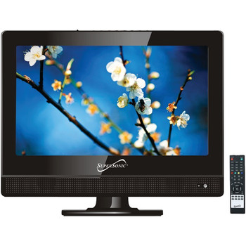 """13.3"""" 720p LED TV, AC/DC Compatible for RV/Boat"""