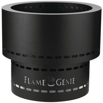 Flame Genie INFERNO(R) Wood Pellet Fire Pit (Black)