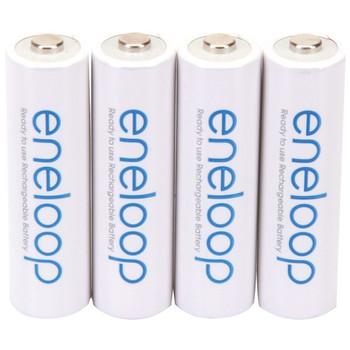 eneloop(R) Rechargeable Batteries (AA; 4 pk)