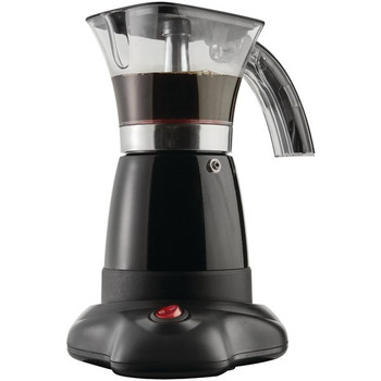 10-Ounce Electric Moka Pot Espresso Machine