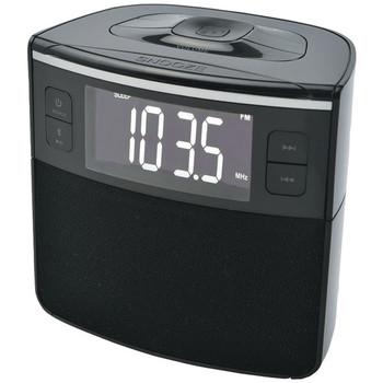 Bluetooth(R) Clock Radio with Auto-Set Dual Alarm Clock & USB Charging