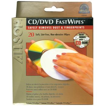 CD FastWipes(TM), 20 Pack