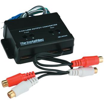 4-Channel 60-Watt Adjustable Level Converter