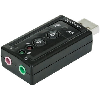 Hi-Speed USB 3D 7.1 Sound Adapter