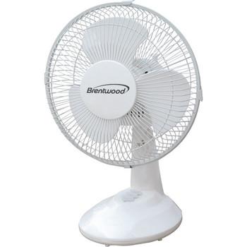 "9"" Oscillating Desk Fan"