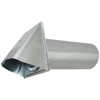 """4"""" Wide-Mouth Galvanized Vent Hood"""