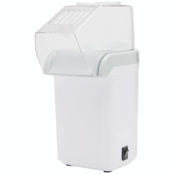 8-Cup Hot-Air Popcorn Maker (White)