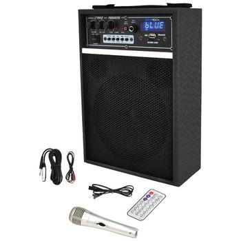 "300-Watt Bluetooth(R) 6.5"" Portable PA Speaker System"