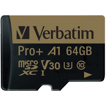 64 GB Pro Plus 666X microSDXC(TM) Memory Card with Adapter
