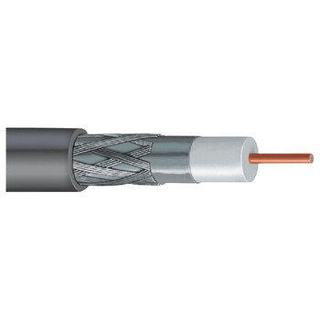 DISH(R)-Approved Single RG6 Cable, 1,000ft (Gray)