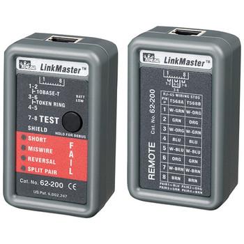 LinkMaster(TM) RJ45 CAT5E/6 Ethernet Wiremapper Tester