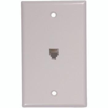 Phone Jack Wall Plate