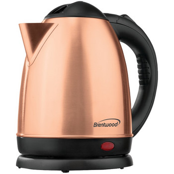 1.5-Liter Stainless Steel Cordless Electric Kettle (Rose Gold)