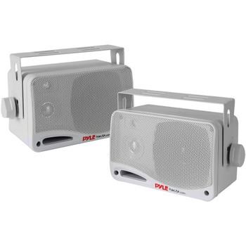 3.5-Inch 200-Watt 3-Way Indoor/Outdoor Bluetooth(R) Home Speaker System (White)